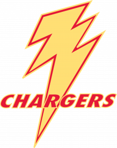IDEA Frontier Chargers Mascot