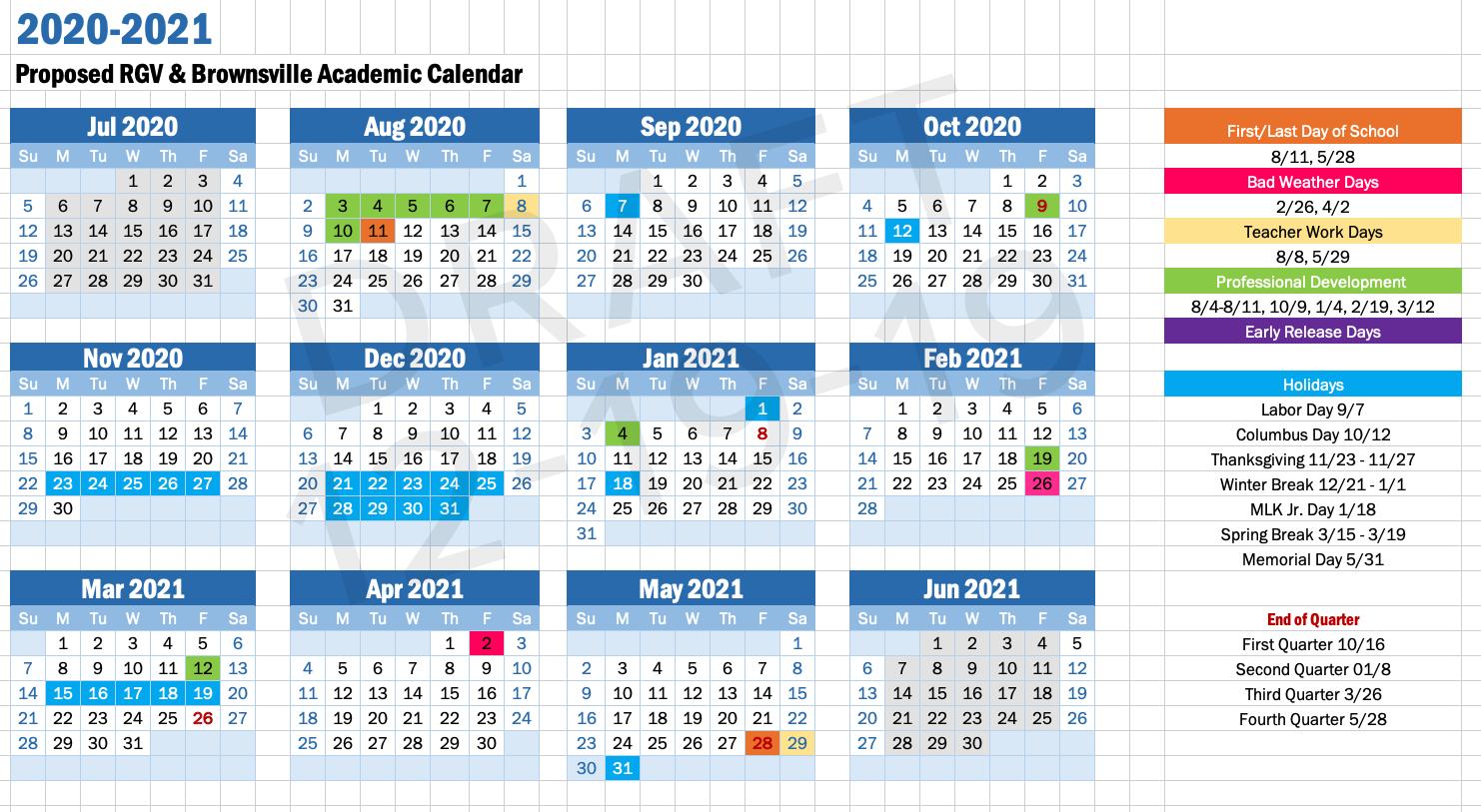 Academic Calendars Idea Public Schools