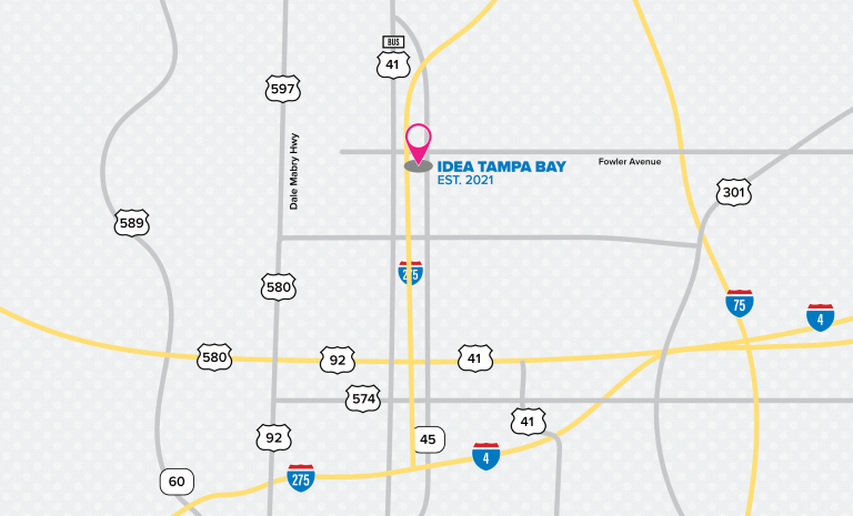 IDEA Tampa Bay location map