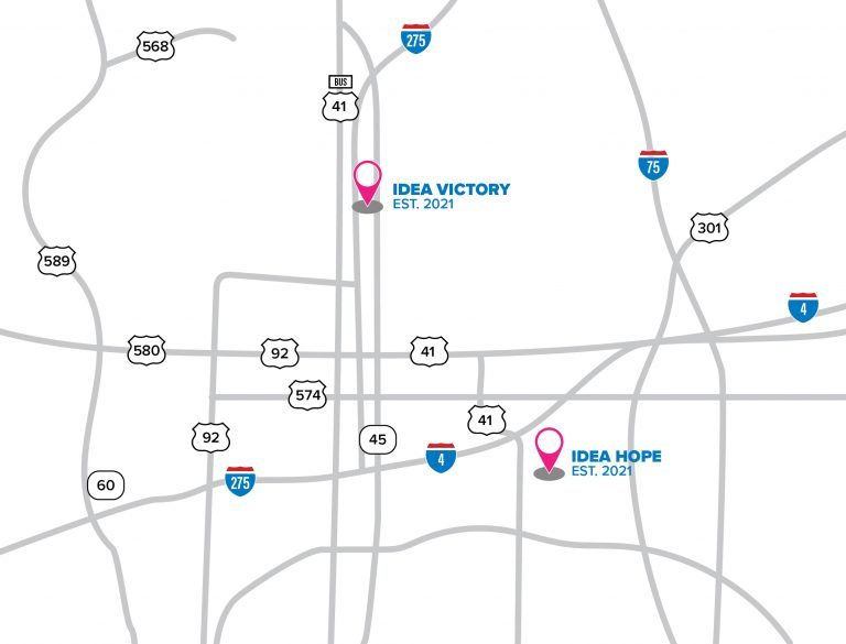 IDEA Tampa Bay Campus Locations