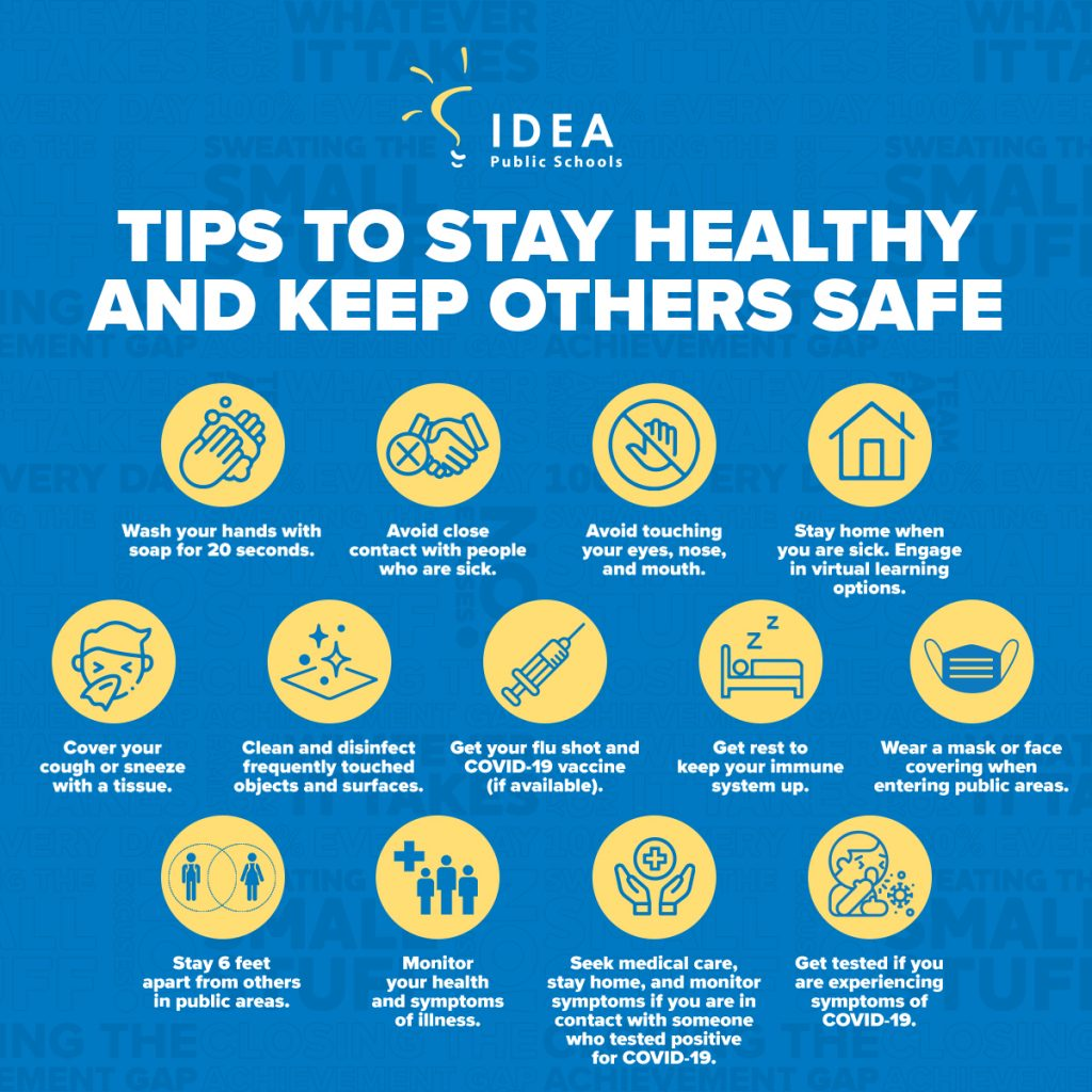 COVID-19 - Tips to Stay Healthy and Safe
