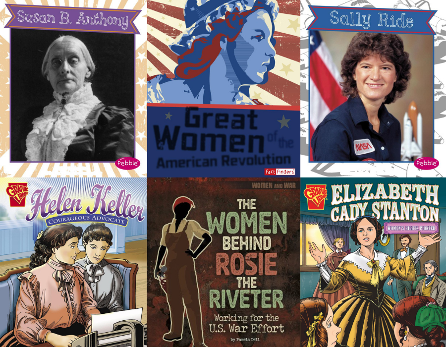 IDEA Public Schools Women's History Month Book List Cover