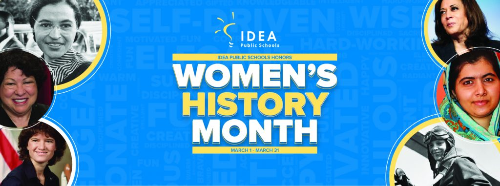 IDEA Public Schools Celebrates Women's History Month 2021