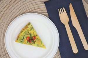Springtime Frittata Recipe | Healthy Kids Here Cookbook | National Nutrition Month