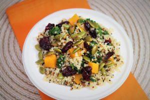 Quinoa Florentine Recipe | Healthy Kids Here Cookbook | National Nutrition Month