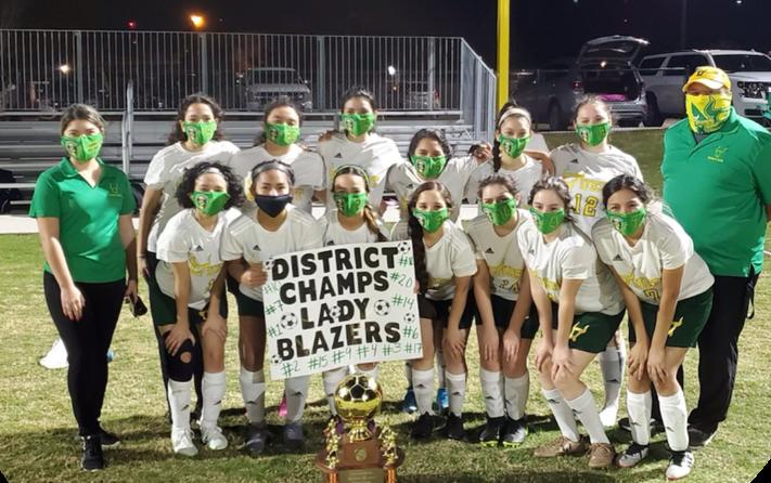 IDEA Quest 30-4A Girls Soccer District Champions