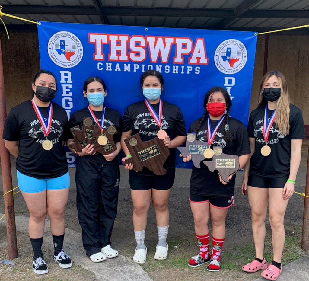 IDEA Edinburg Girls Powerlifting: Advancing to State Powerlifting Meet on March 18, 2021