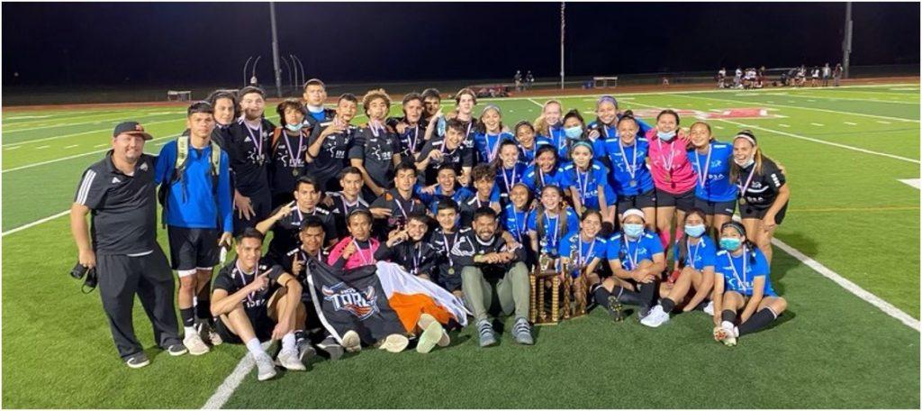 IDEA Toros Varsity Boys and Girls: Texas Charter Soccer State Champions