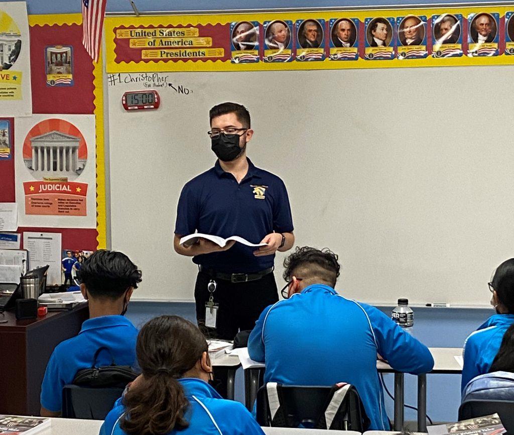 Farias in the Classroom, IDEA Weslaco Pike